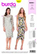 6423  Burda Pattern: Ladies Dress